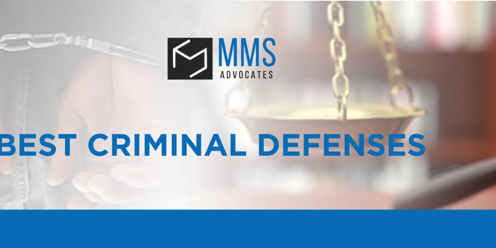 BEST CRIMINAL DEFENSES
