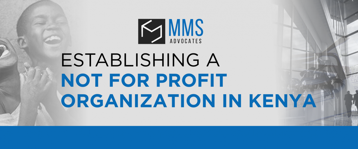 ESTABLISHING A NOT FOR PROFIT ORGANIZATIONS IN KENYA